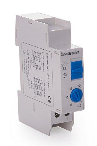 Elektronischer Treppenhausautomat, 16A, 230V, Treppenlichtzeitschalter