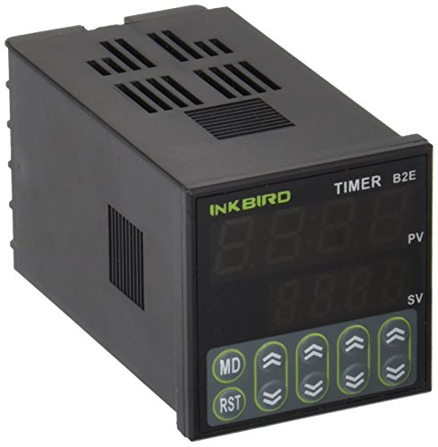 Inkbird Digital Twin Relais | Timer | 110-220V | IDT-E2RH