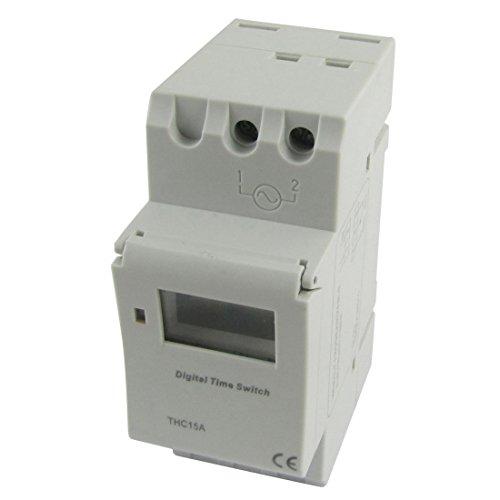 Digital, LCD | Wöchentlich programmierbarer Timer | DC / AC 12V Zeitrelais-Schalter