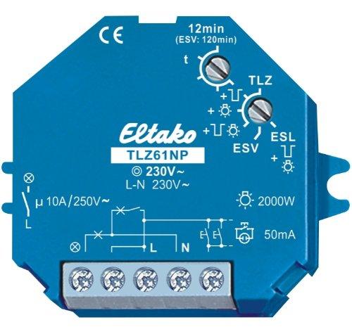 Eltako Treppenlichtzeitschalter, TLZ61NP-230V