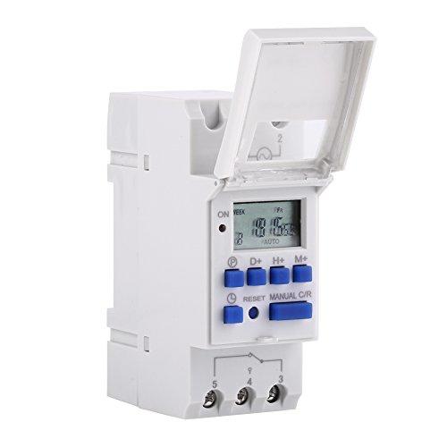 7-Tage Heavy Duty THC 15A Digital Timer Programmierbares Timer Relais 16 Ein 0026 Aus Digital Timer Switch(AC / DC24V)