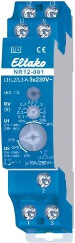 Eltako NR12-001-3x230V Netzüberwachungsrelais mit Drehfeldüberwachung