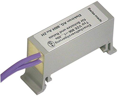ELEKTRON AC/DC Zeitrelais Anschluss Kabel 5A 60s VZE 806 24-250